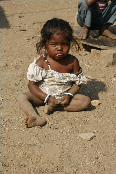 Help us alleviate child poverty in India