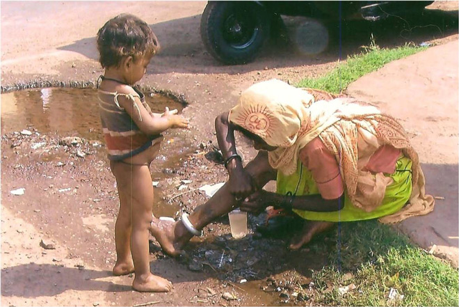 helping the street children of India