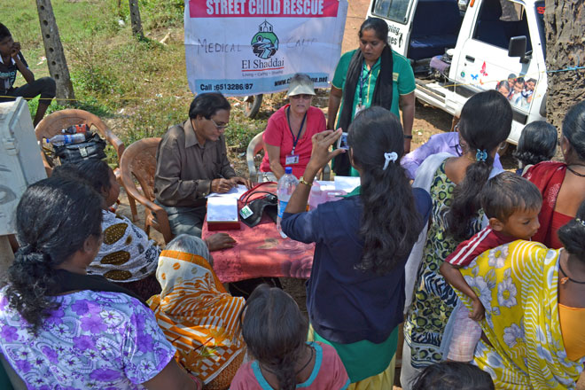 US charity providing medical outreach clinics to India