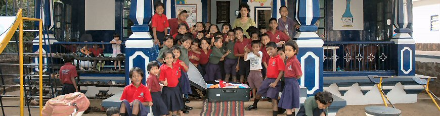 Providing Education for Indian Slum Children